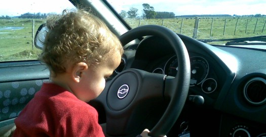 Mindful driving baby